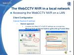 the webcctv nvr in a local network11