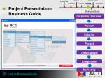 project presentation business guide