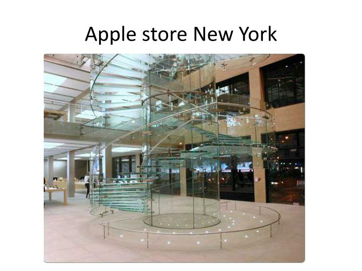 Apple store new york1