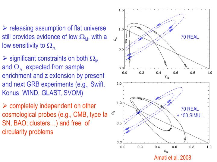 releasing assumption of flat universe still provides evidence of low