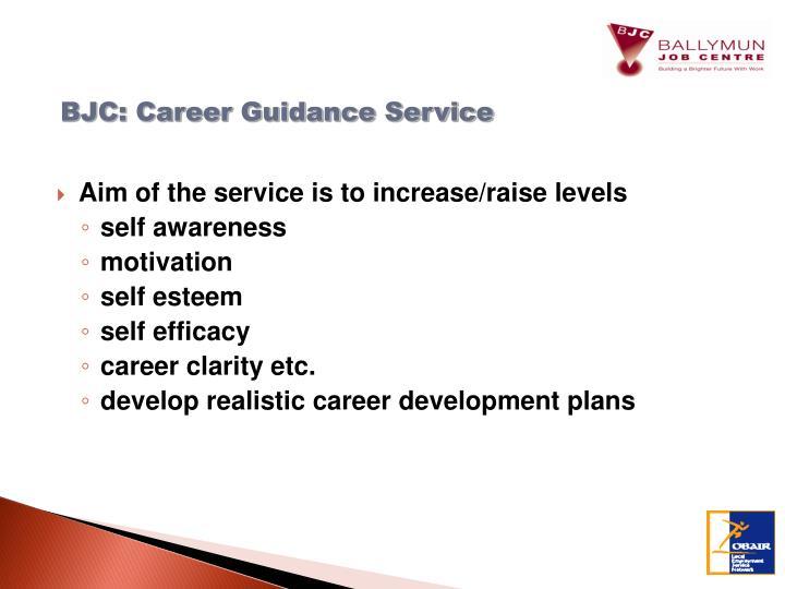 BJC: Career Guidance Service
