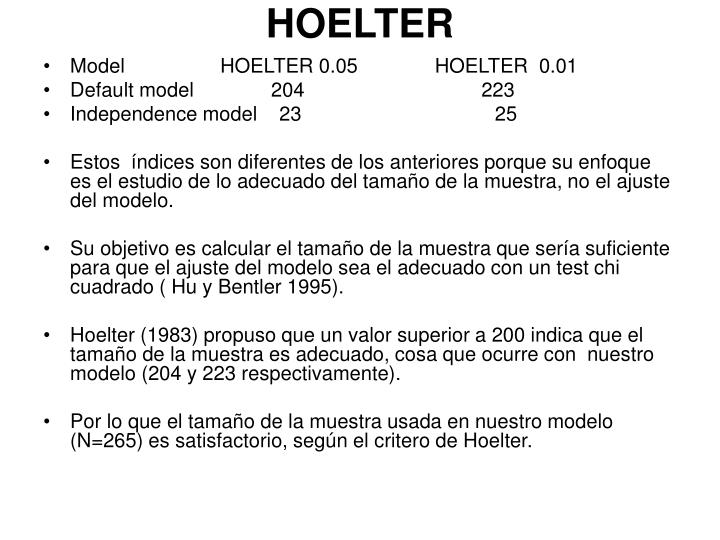 HOELTER