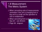 1 8 measurement the metric system2