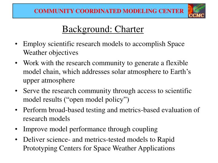 Background: Charter