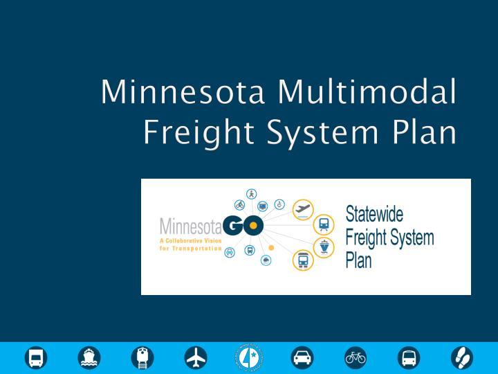 Minnesota Multimodal Freight System Plan