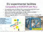 compatibility of eurofer with pb li