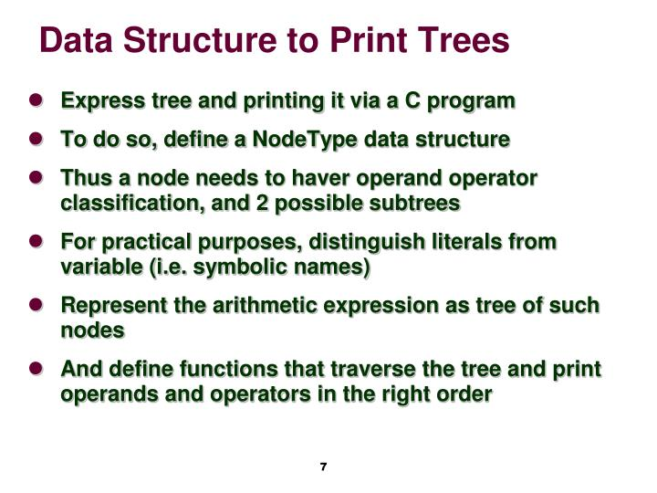 Data Structure to