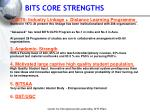 bits core strengths