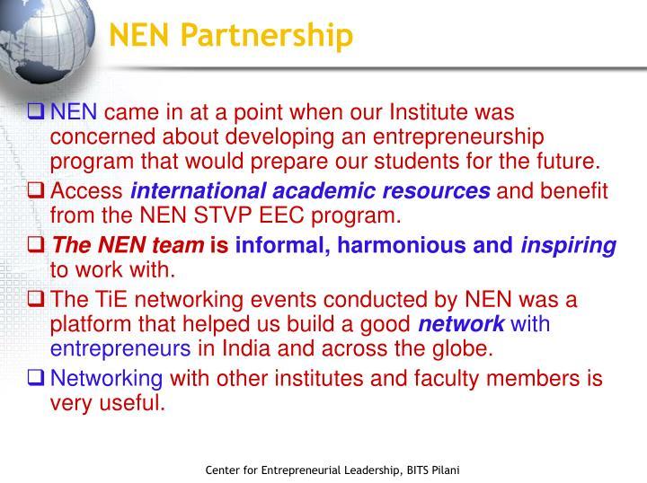 NEN Partnership