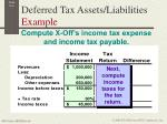 deferred tax assets liabilities example3