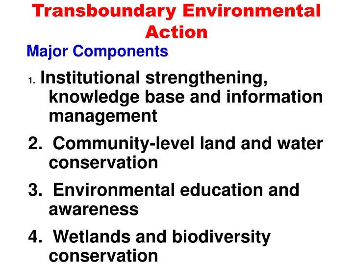 Transboundary Environmental Action