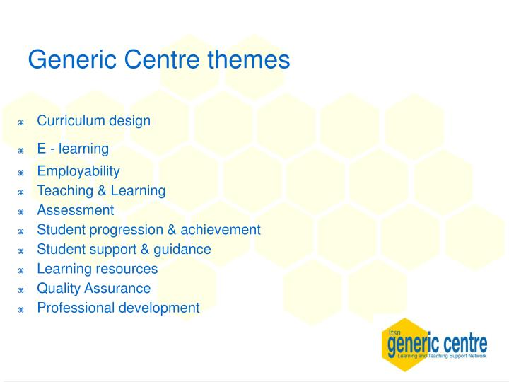 Generic Centre themes