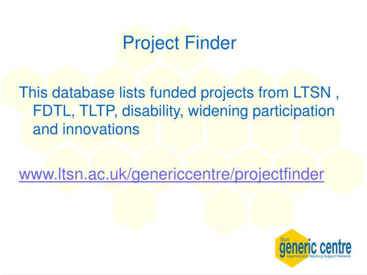 Project Finder