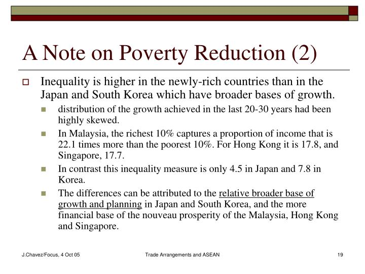 A Note on Poverty Reduction (2)