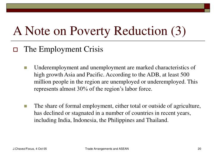 A Note on Poverty Reduction (3)