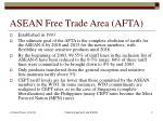 asean free trade area afta