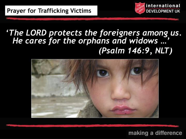 Prayer for Trafficking Victims