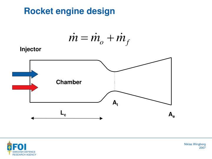 Rocket engine design