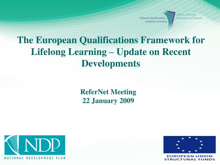 refernet meeting 22 january 2009