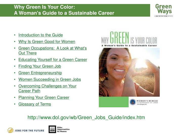 Why Green Is Your Color: