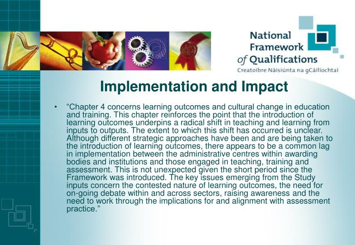 Implementation and Impact