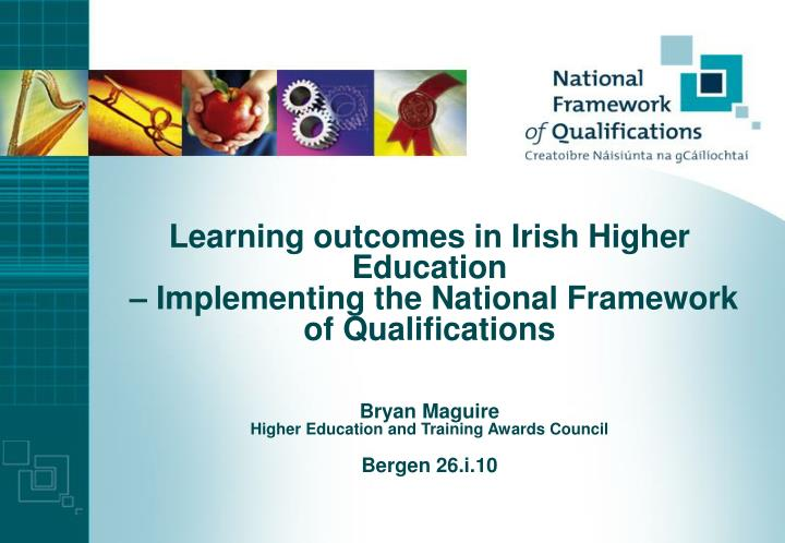 Learning outcomes in Irish Higher Education