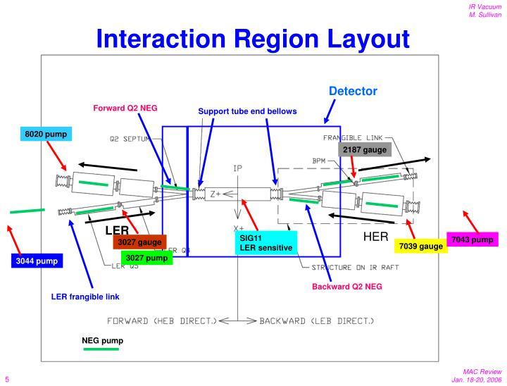 Interaction Region Layout