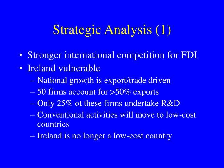 Strategic Analysis (1)