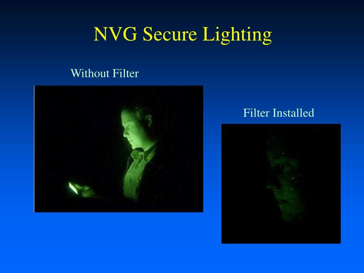 NVG Secure Lighting