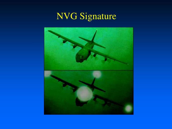 NVG Signature