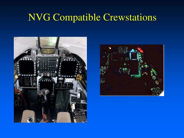 NVG Compatible Crewstations