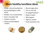 more healthy lunchbox ideas