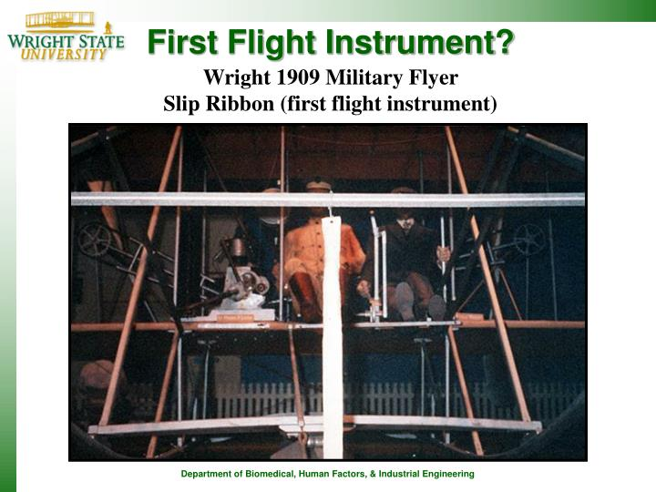 First Flight Instrument?