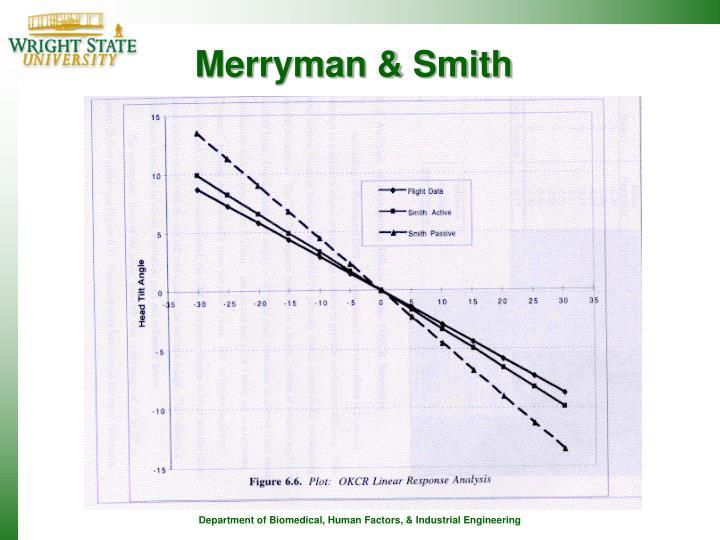 Merryman & Smith