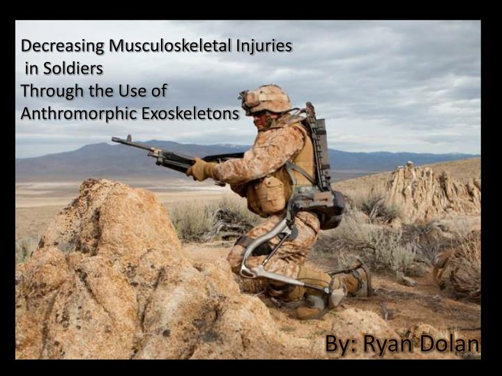 Decreasing Musculoskeletal Injuries