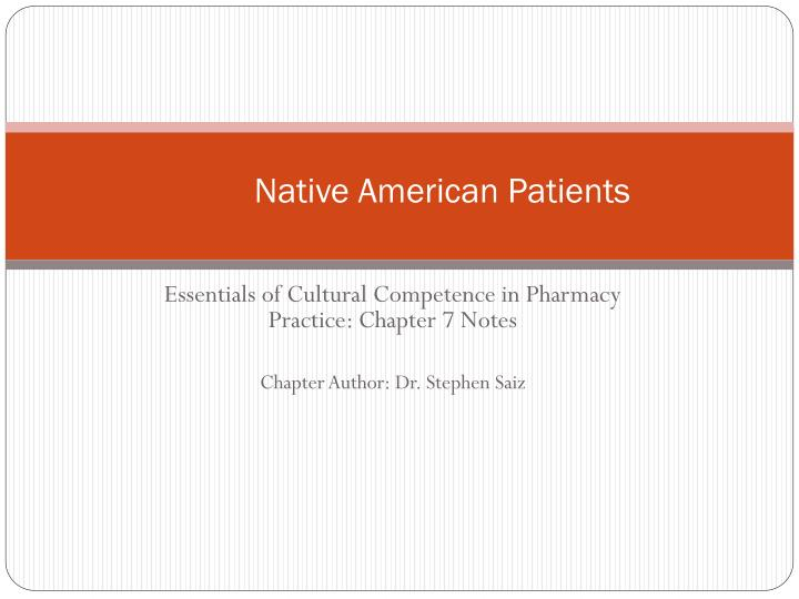 Native American Patients
