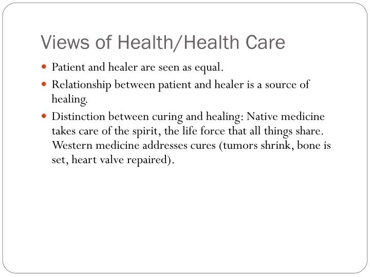 Views of Health/Health Care