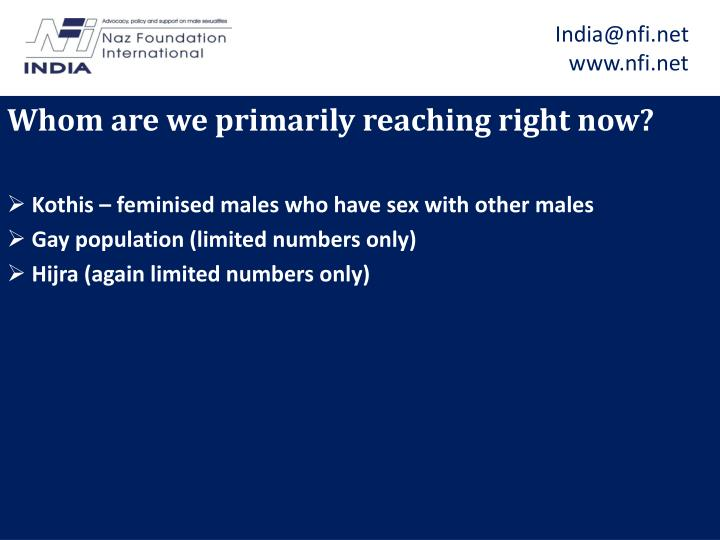India@nfi.net