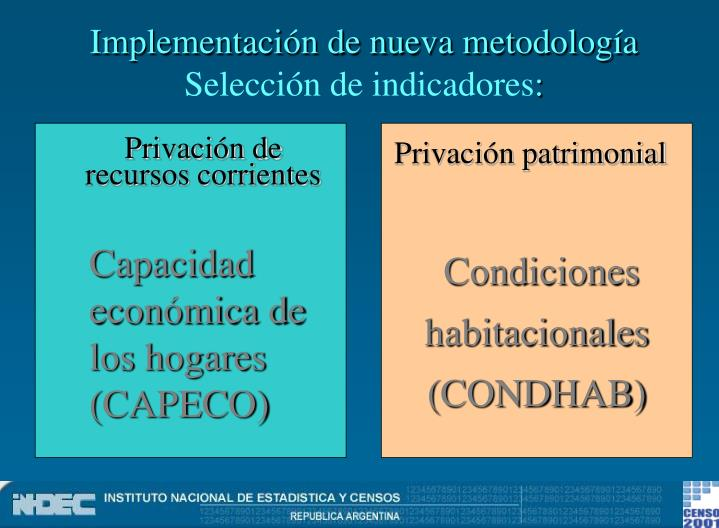 Implementación de nueva metodología