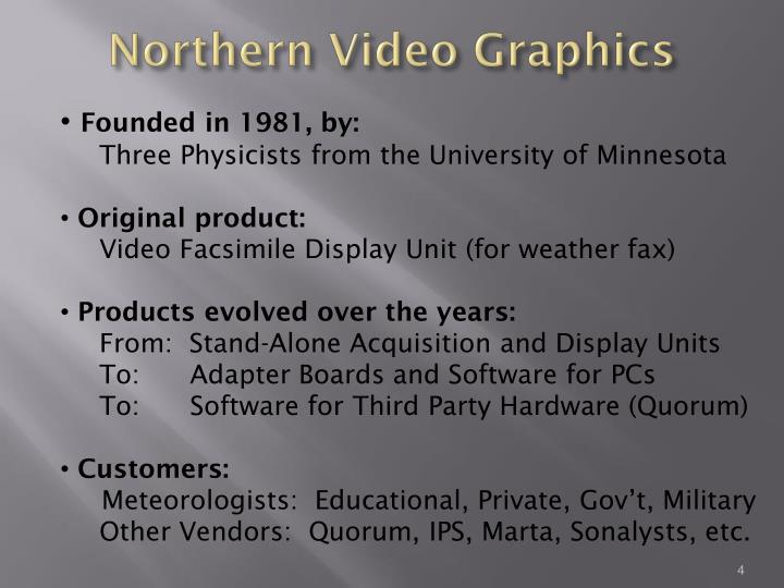 Northern Video Graphics