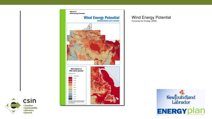 Wind Energy Potential