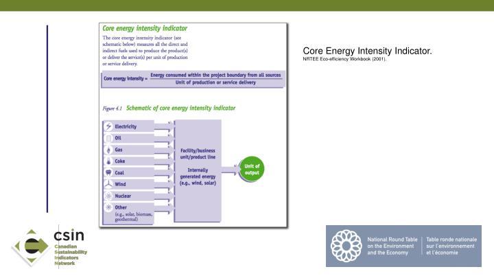 Core Energy Intensity Indicator.