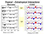 tropical extratropical interactions