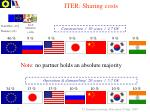 iter sharing costs