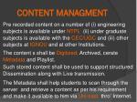 content managment