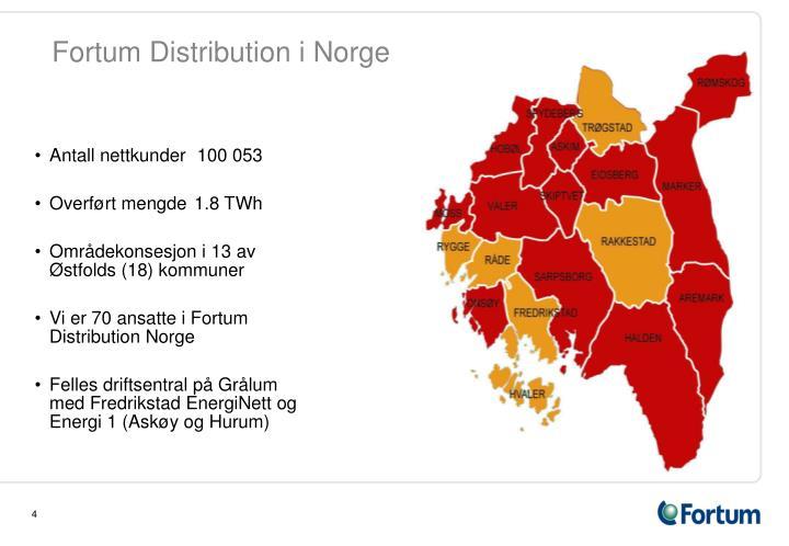 Fortum Distribution i Norge