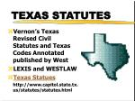 texas statutes1
