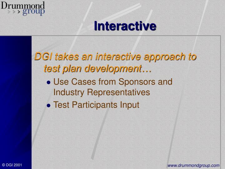 Interactive