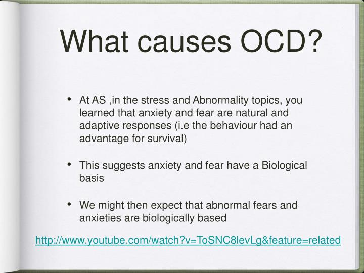 What causes ocd1