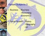 option subjects 2